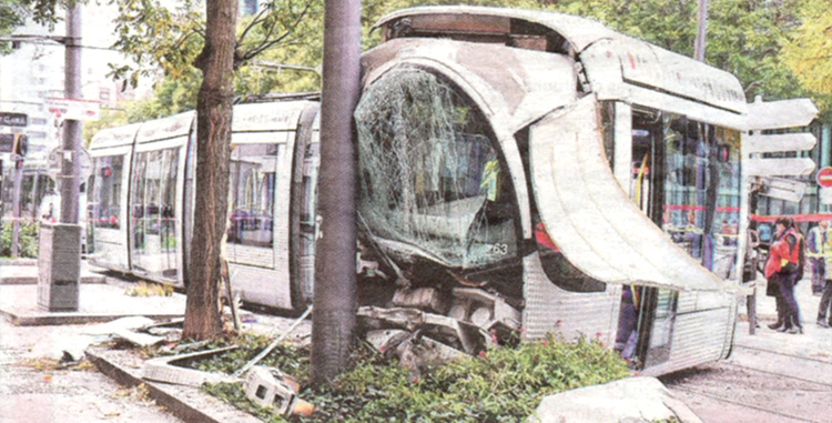 Tramway accidents